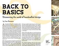 Digital Element Magazine Spreads