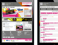 Cumbernauld College Website