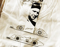 T-Shirt Fangio Limited Edition