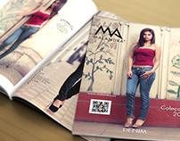 Fotografías y Diseño Catálogo de Jeans Malandra