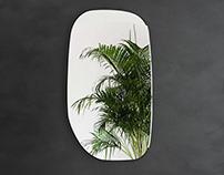 Free 3d model / Pamukkale Mirror by Ligne Roset