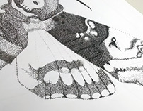 Acherontia Atropos - WIP