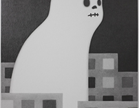 Invisible city ghost