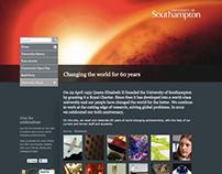 University of Southampton 60@60 Website