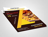 Corporate Biryani Flyer