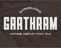 Garthram Font