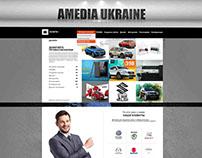 UX/UI/WEB for «Amedia Ukraine» Ukraine, Kiev