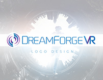 DreamForge VR Logo Design Project