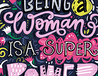 Being a Woman is a super power