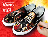 SLAYER X VANS SNEAKER CUSTOM