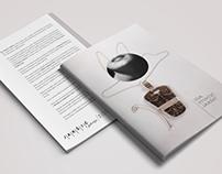 Jewelry exhibition brochure