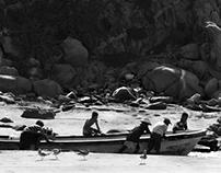 Fisherman's boat at Boca vieja