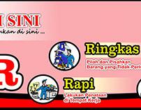 Banner 5S 5R Seiri Seiton Indonesia Free Download 4