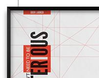 Designer Derek Birdsall Book Release Poster