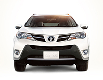 2013 Toyota RAV4 Microsite + Email Campaign
