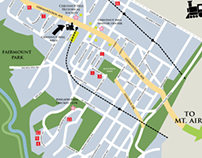 Chestnut Hill Historical Society Map