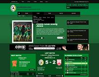 PSS Sleman Website Interface