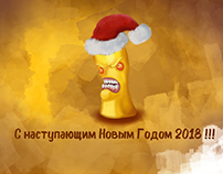 Yellow worm congratulates!