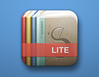 Scrapnote Lite icon design