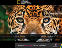 Website redesign National Geographic