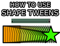 Learn Shape Tweens in Flash/Animate CC