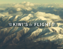 Kiwi's In Flight Memorial Stamp Design