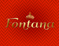 Fontana — Spanish Wine Label