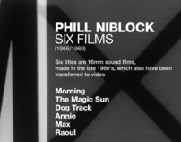 Phill Niblock, six films