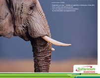 Safaricom Lewa Marathon Press Ad