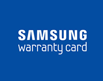 samsung warrenty card