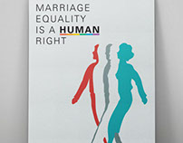 MARRIAGE EQUALITY / POSTER DESIGN