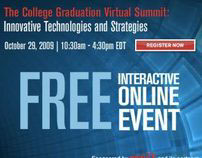 Visual ID/Banner Ads: College Grad Virtual Summit