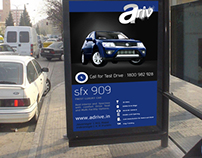 Branding and Outdoor Advertisement for Automobile Co.