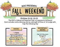 Fall Weekend poster