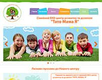 WEBsite kids center