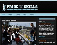 Pride 'N Skills Academy Website Design