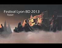 Lyon BD Festival - Teaser 2013