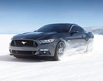Ford Mustang - CGI