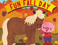 """Fun Fall Day"" - Touch and Feel Boardbook"