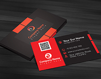 Corporate Business Card V-1