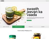 Zandu-Proposed-Corporate Website