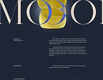 Website for design company