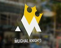 "Logo for ""Mughal Knights"""