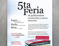 Piezas Gráficas - 5ta Feria de Publicaciones