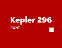 Kepler 296 | font
