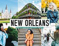 Free New Orleans Mobile & Desktop Lightroom Presets