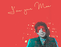 Leonard Cohen - Collage
