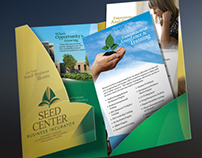 Seed Center - Presentation Brochure Design