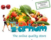Branding campaign for Farhom