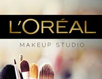 Loreal Makeup Studio App